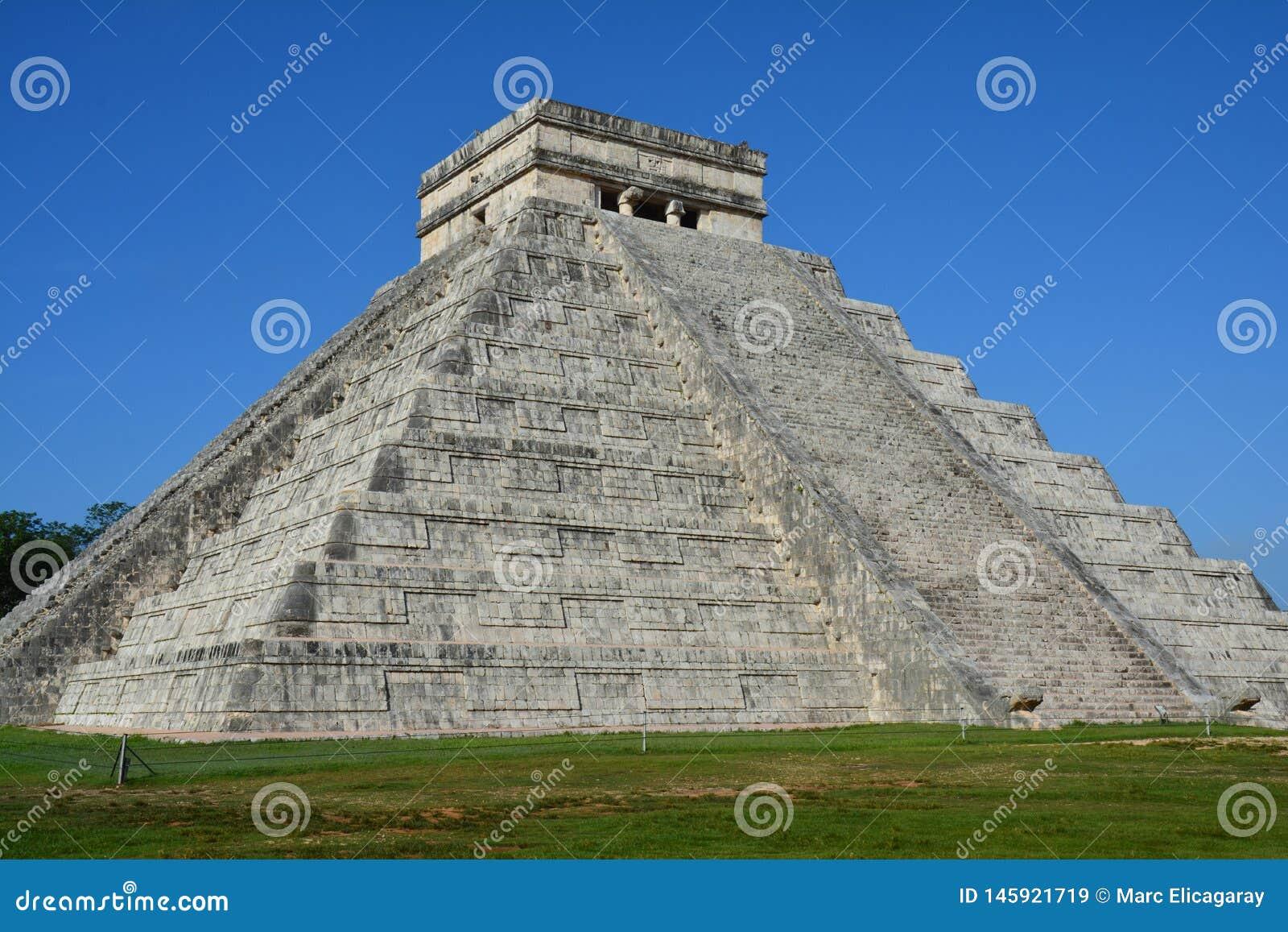 Archäologische Fundstätte Yucatan Mexiko Chichen Itza