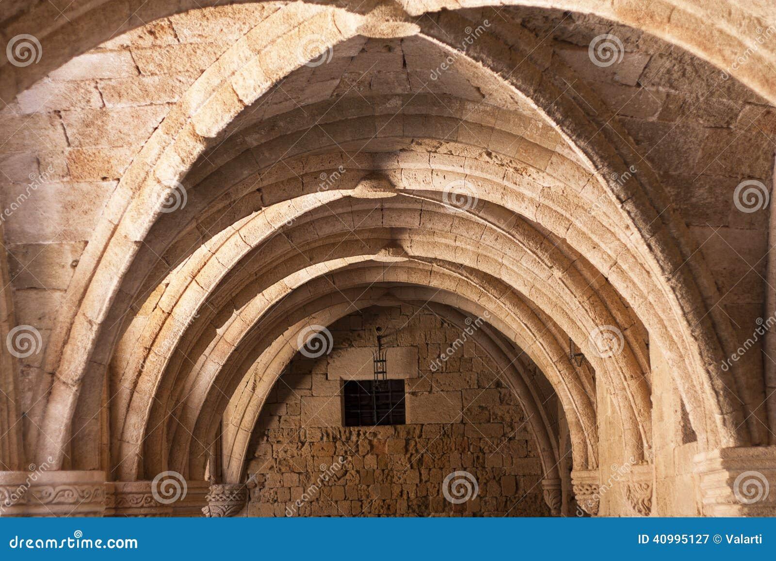 Archäologisches Museum Rhodos das mittelalterliche Gebäude des Krankenhauses der Ritter