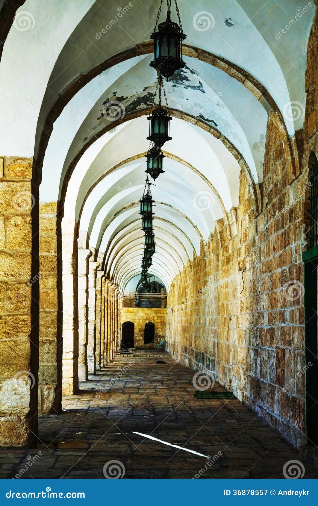 Download Arché Di Un Passaggio Al Temple Mount A Gerusalemme Immagine Stock - Immagine di passaggio, israele: 36878557