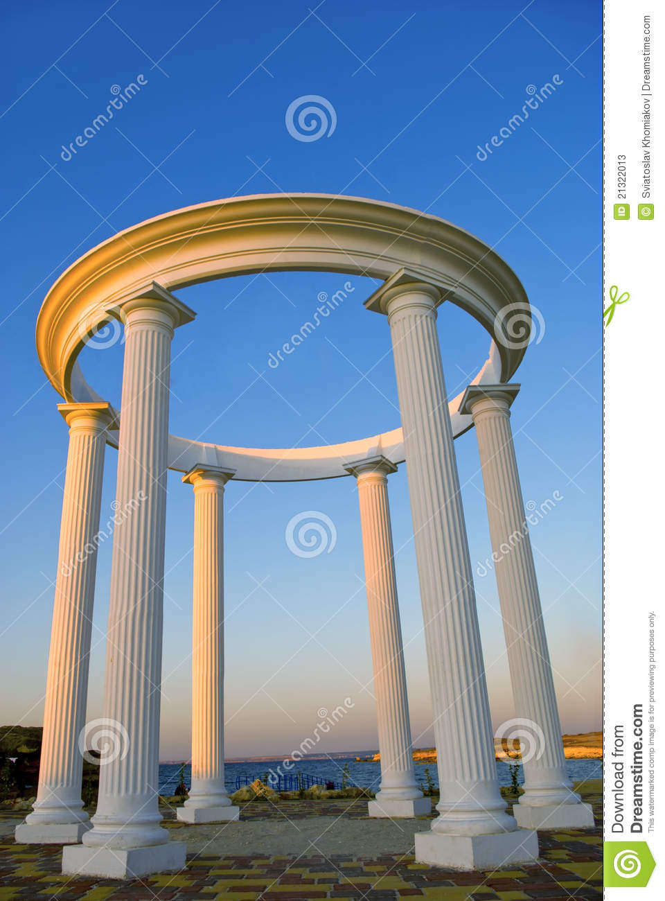 Arch With Columns Stock Photos Image 21322013