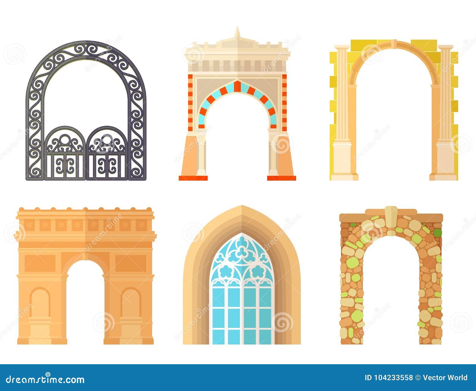 5b81e0fe4e22 Architecture Frame Stock Illustrations – 81
