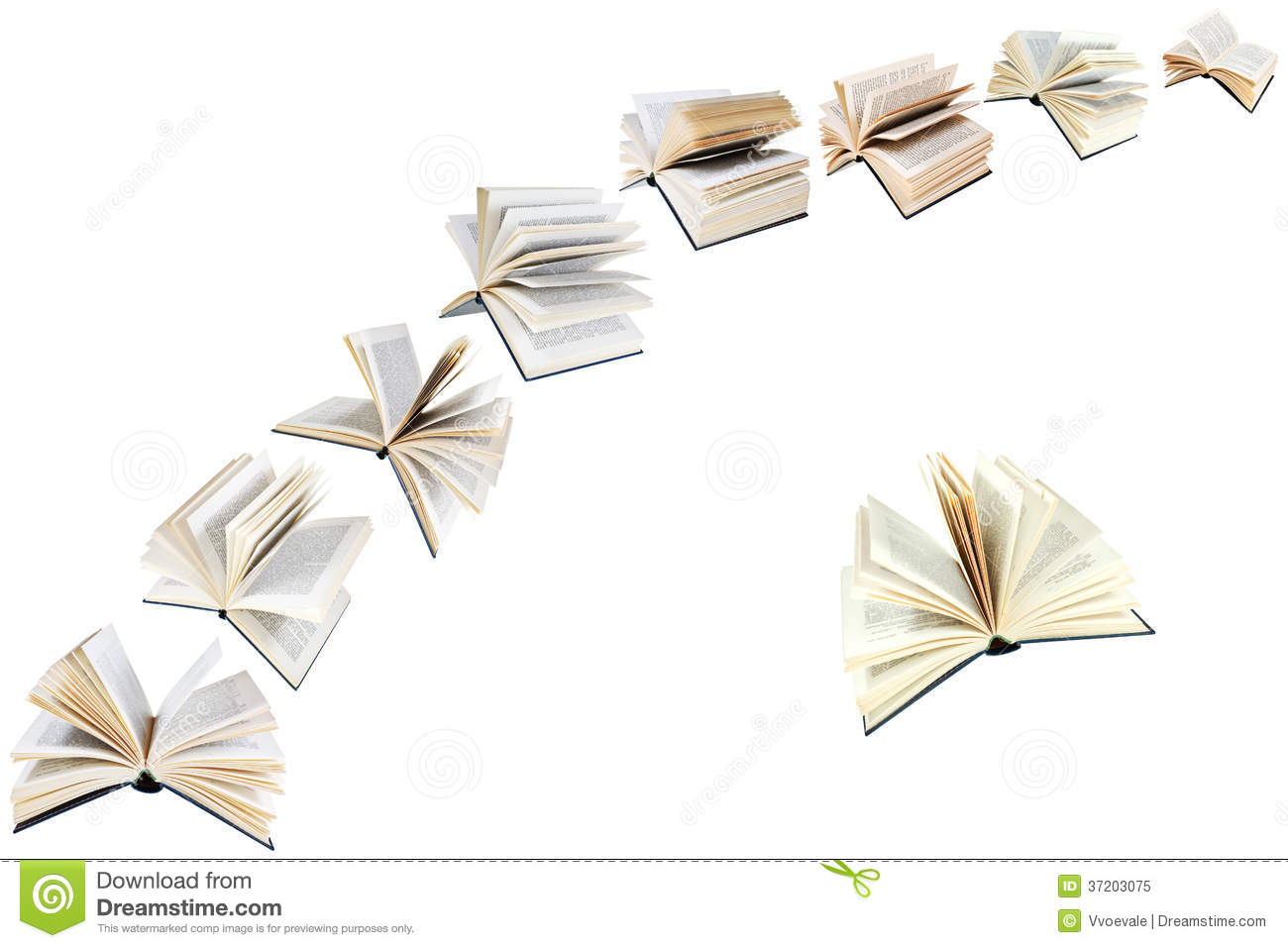 Flying Books Stock Photos, Images, & Pictures - 352 Images