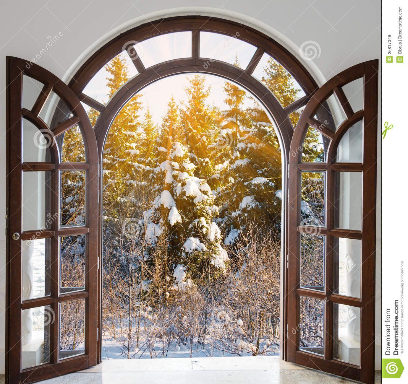 Arch in the fortress stock image. Image of doorway, arch ...