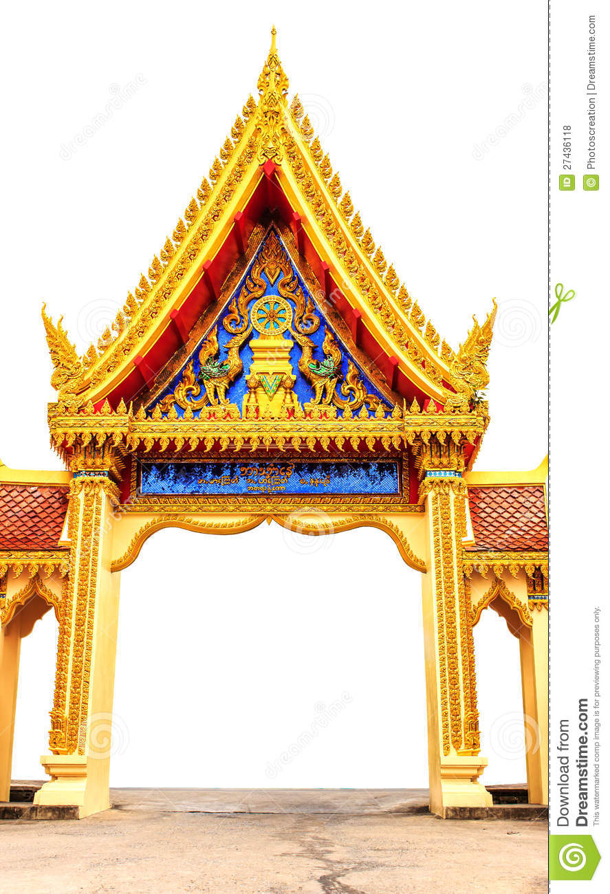 Arch Thai Temple Stock Photo Image Of Oriental Arch