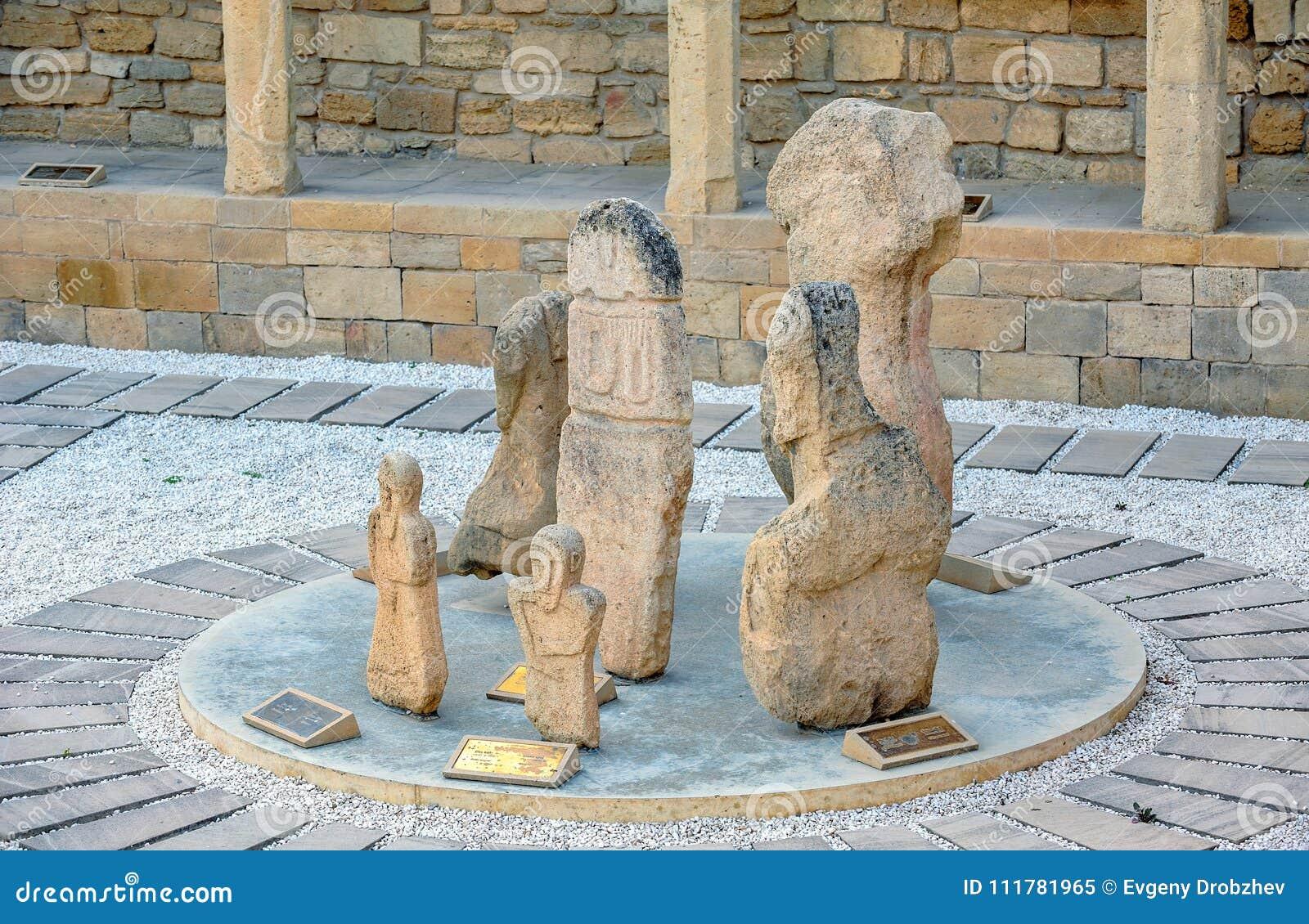 Archaeological exposition in Baku, Azerbaijan