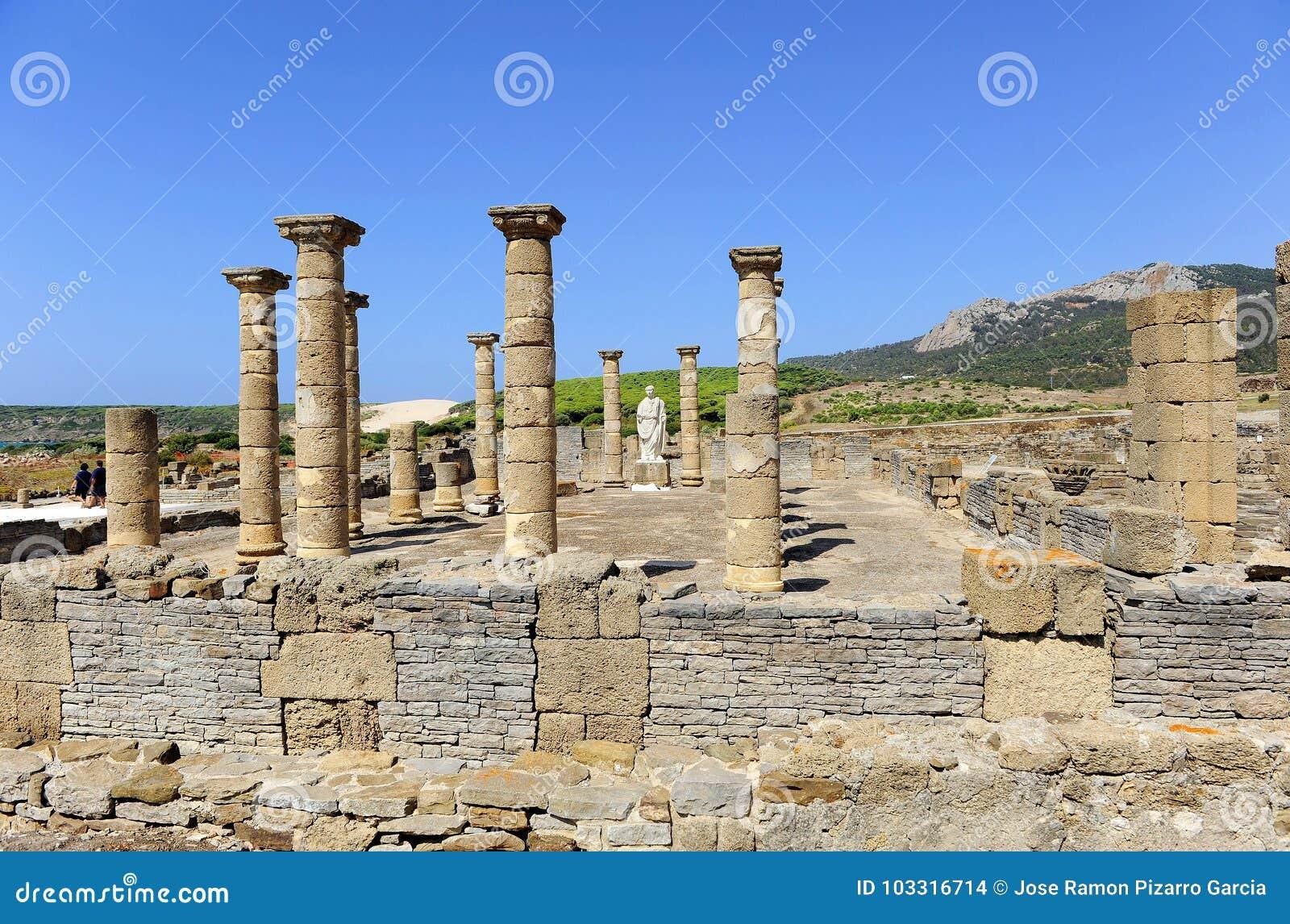 Archaeological site of Baelo Claudia, Tarifa, province of Cádiz, Spain