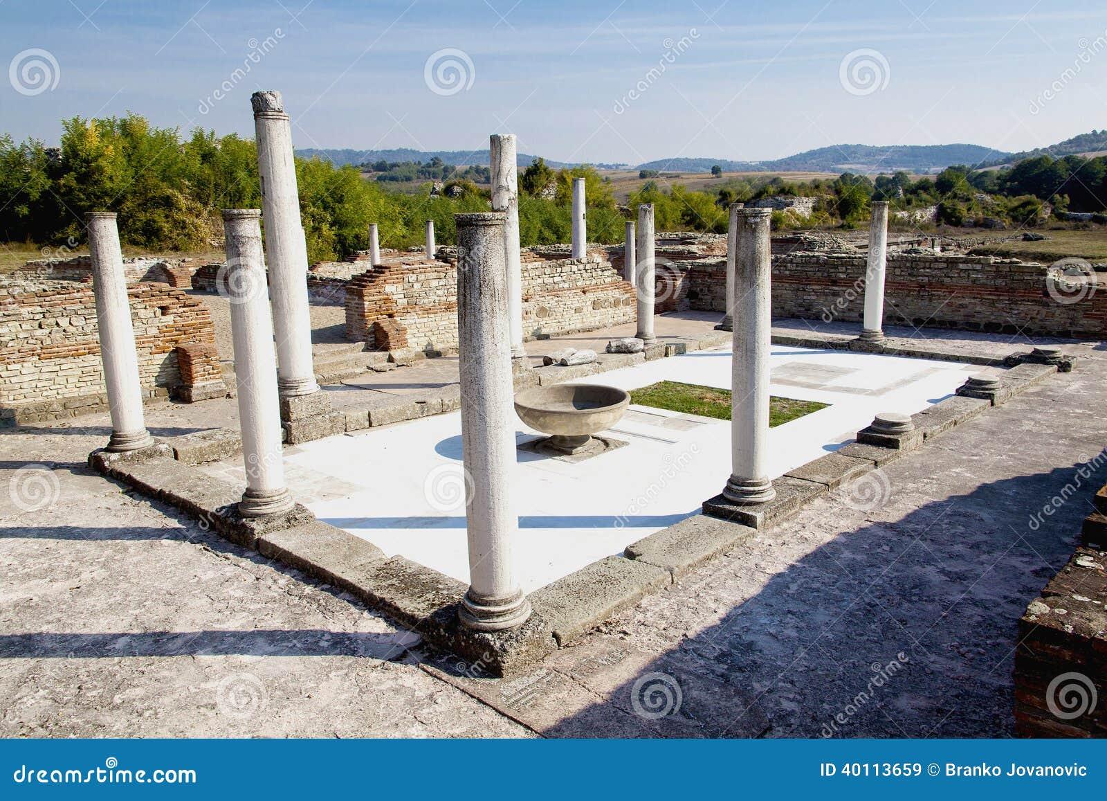 Archaeological site Felix Romuliana