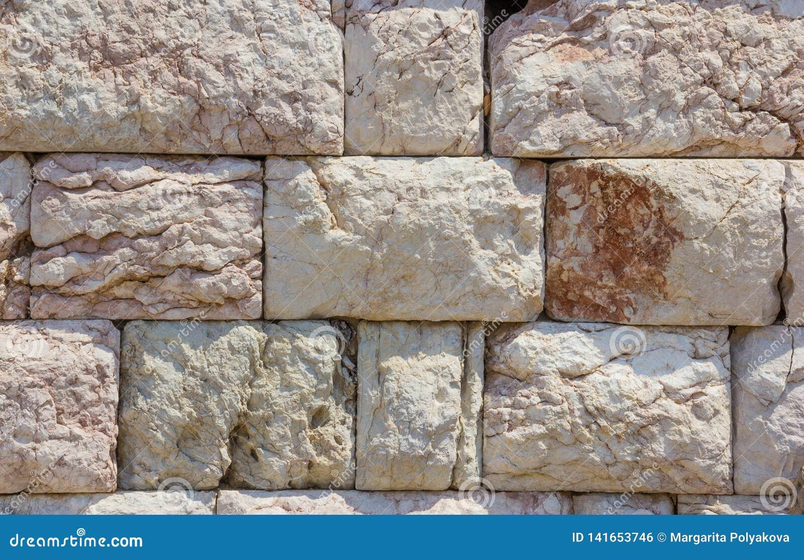 Archaeology viejo fondo de la pared del granito