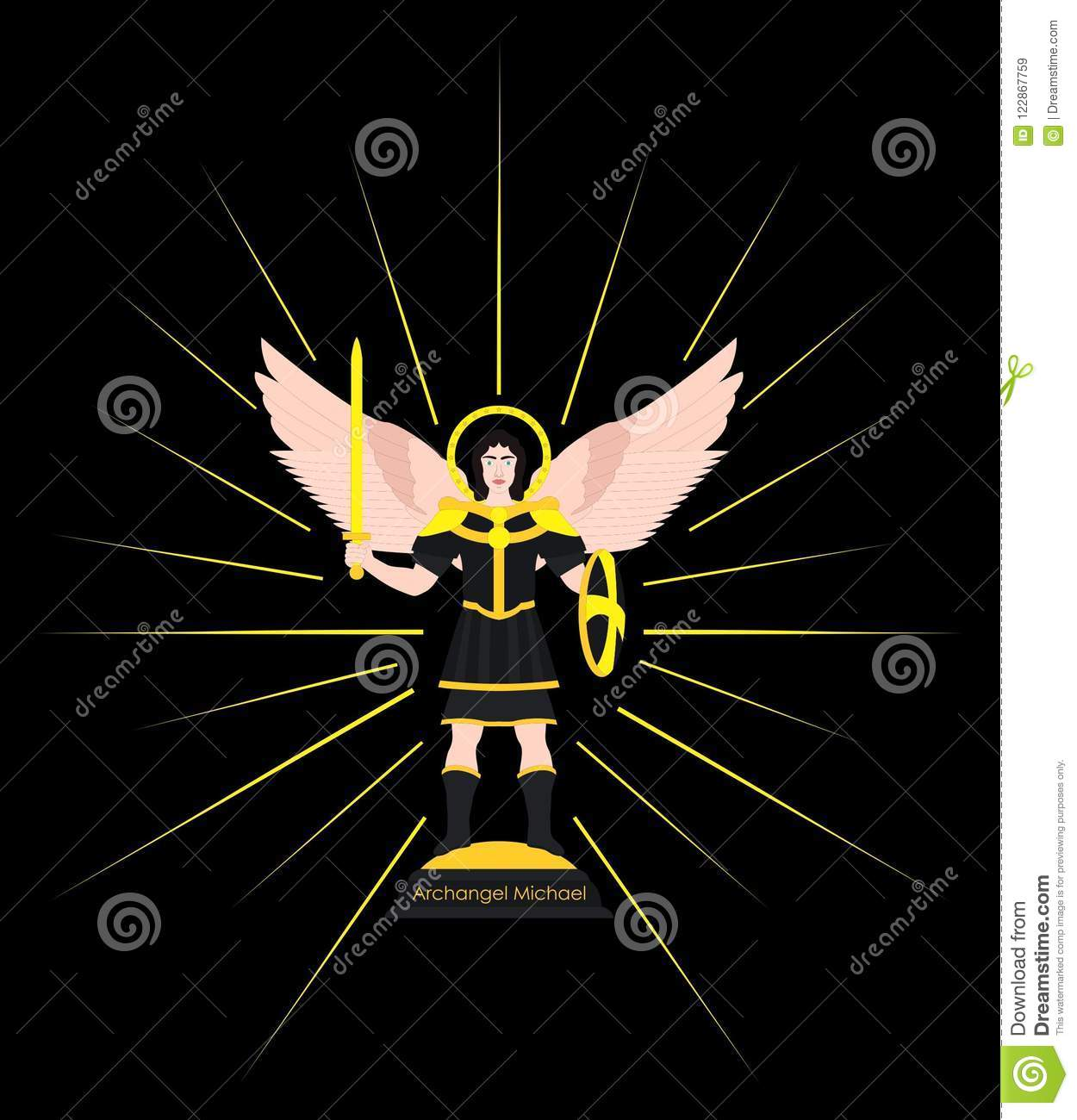 archangel michael symbol - HD 1250×1300