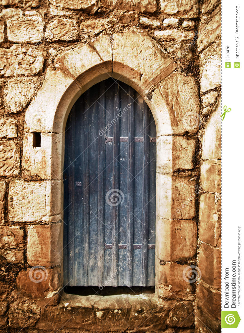 Royalty-Free Stock Photo. Download Arched Door ... & Arched Door Stock Photo - Image: 6913470 Pezcame.Com