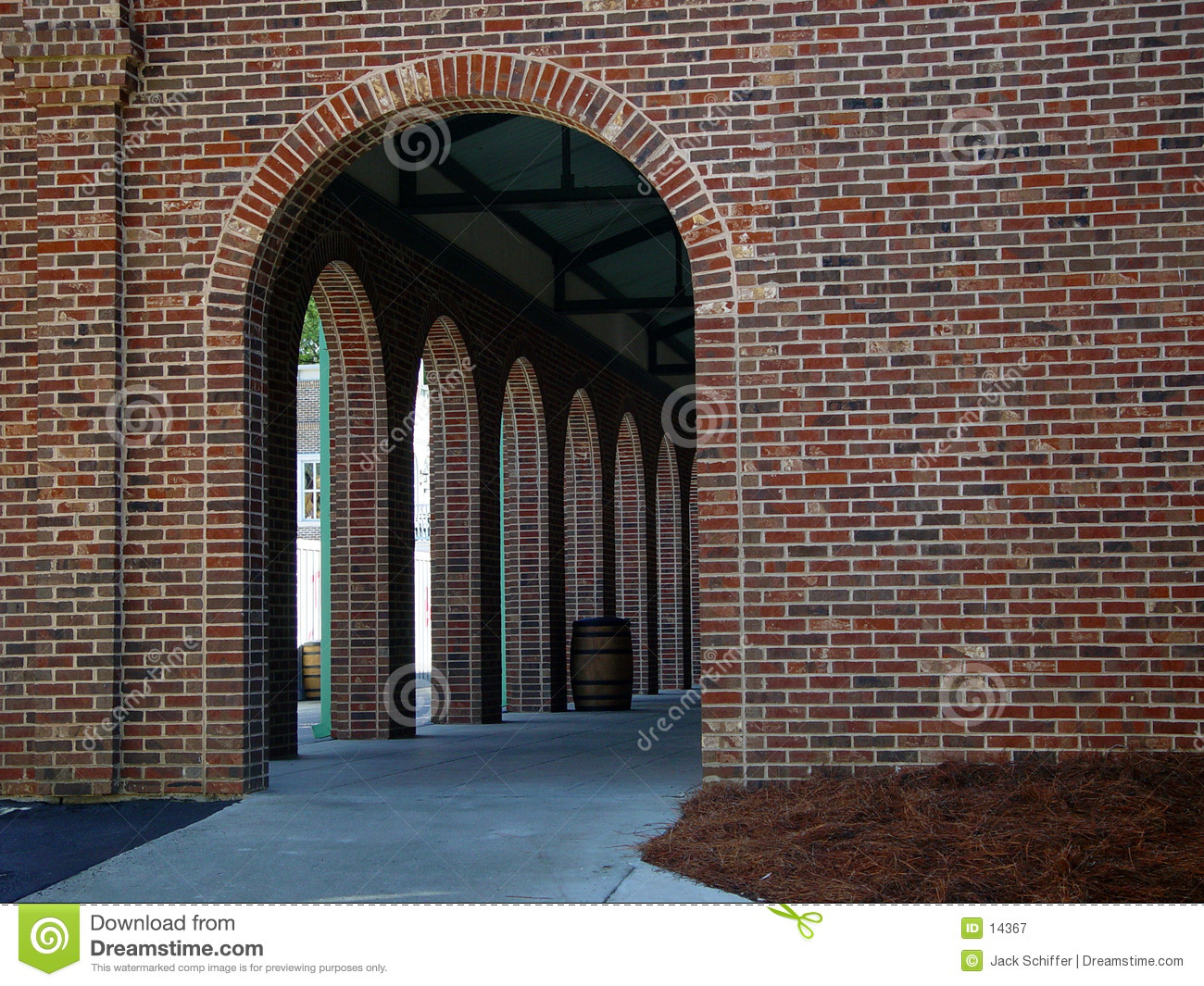 Arched Entrance