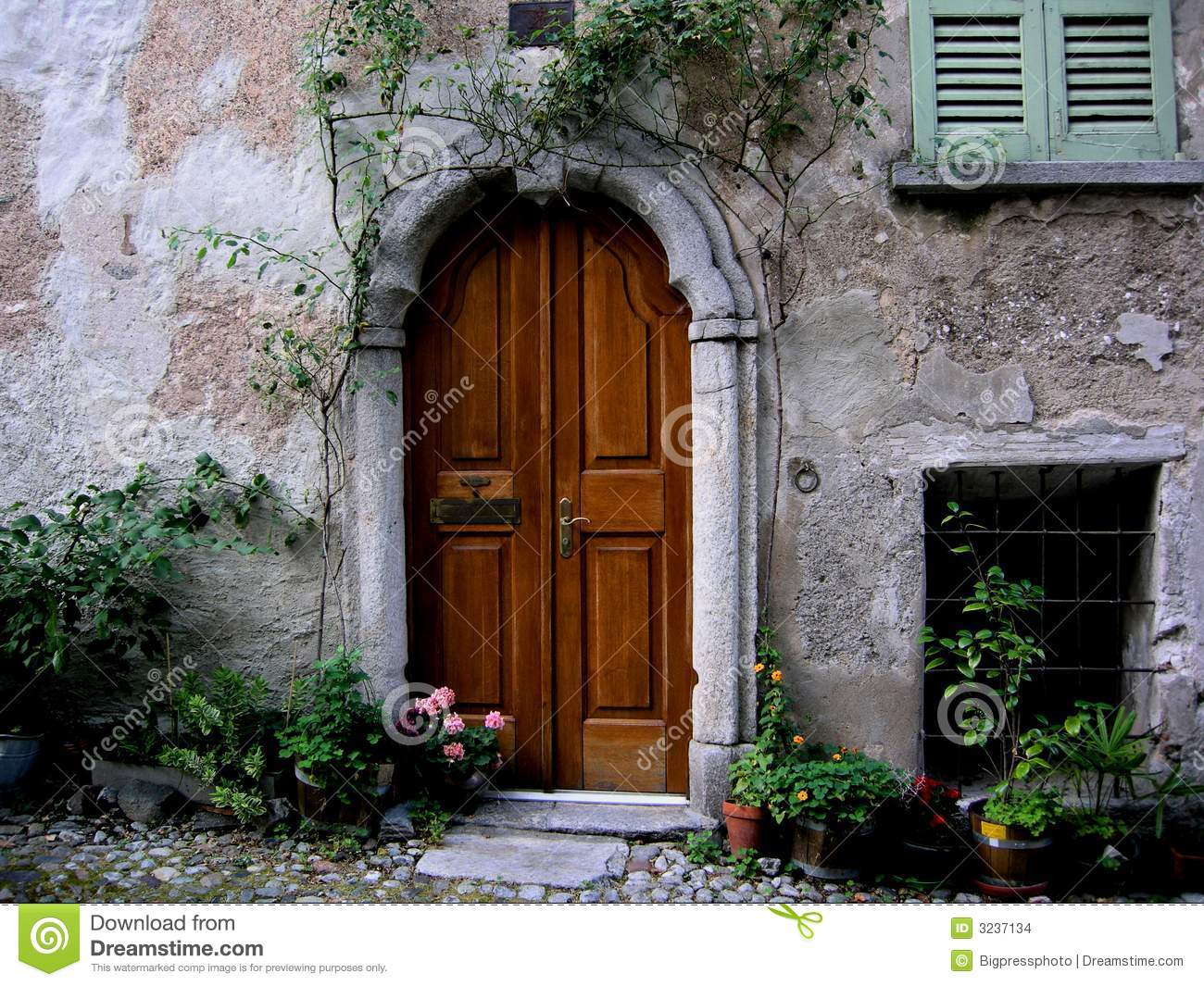 1065 #693611 Arched Entrance Door Tuscany Italy Stock Images Image: 3237134 save image Arched Front Doors For Homes 44971300