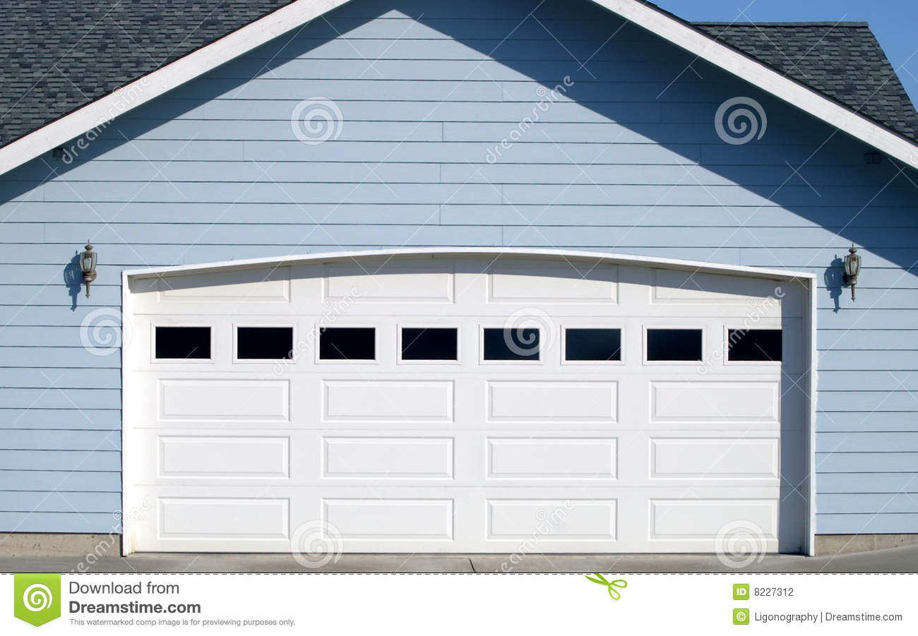 Arched Garage Door Opening Stock Photography Image 8227312