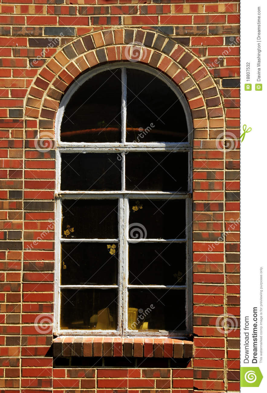Arched Window Brick Wall Stock Photography Image 18807532