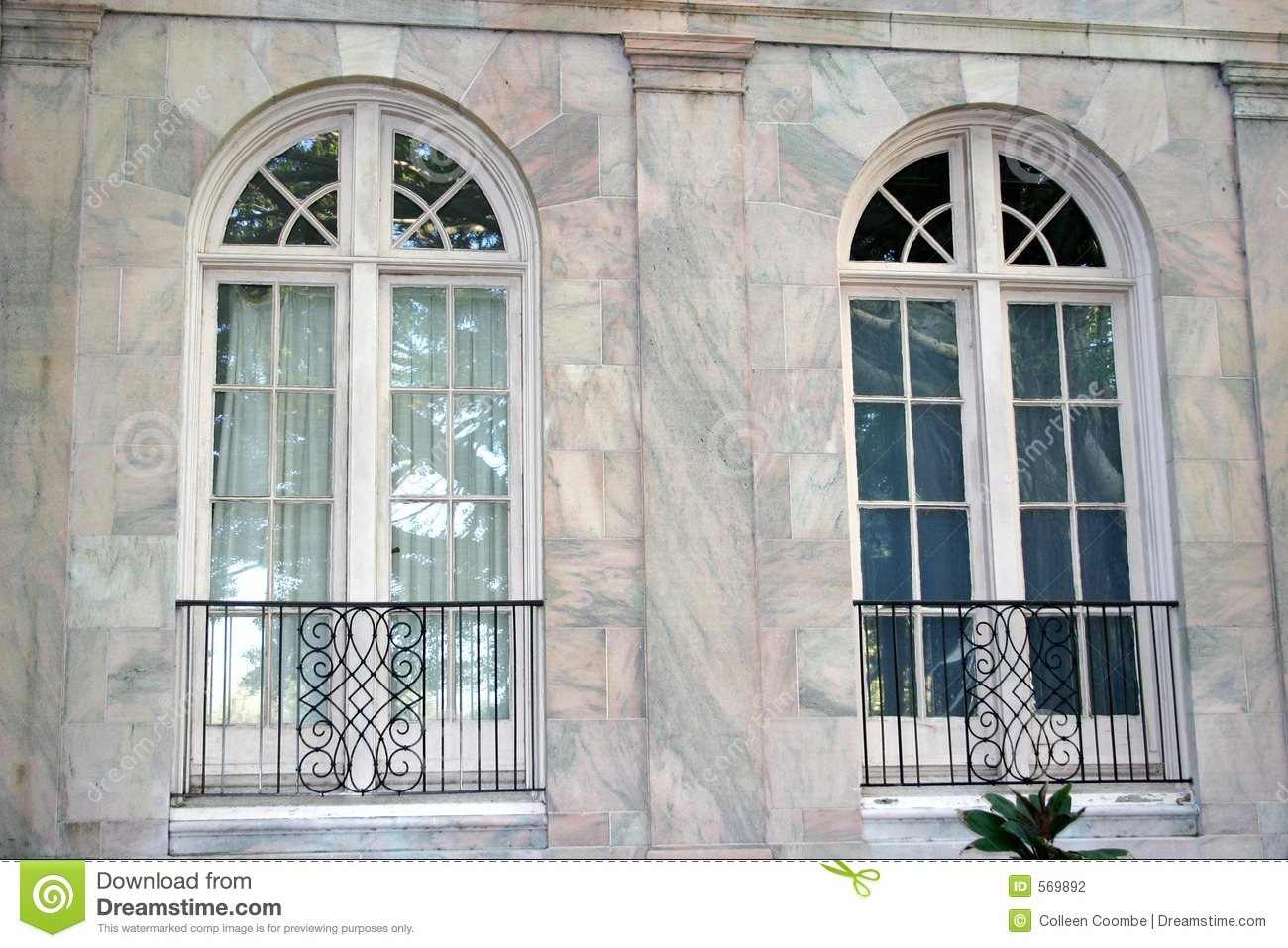 Arched Windows Stock Photo Image Of Marble Windows
