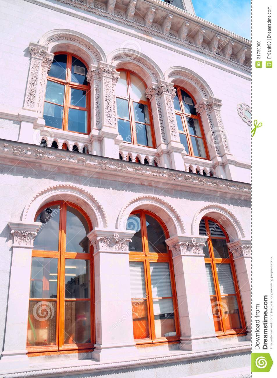 arched windows stock photo image 31733900
