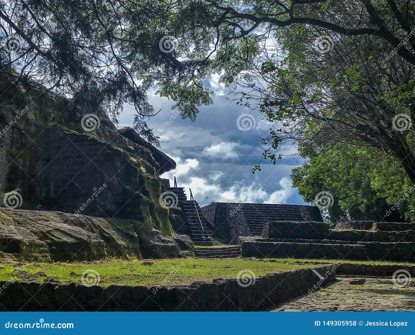 Archeologiczna strefa Malinalco