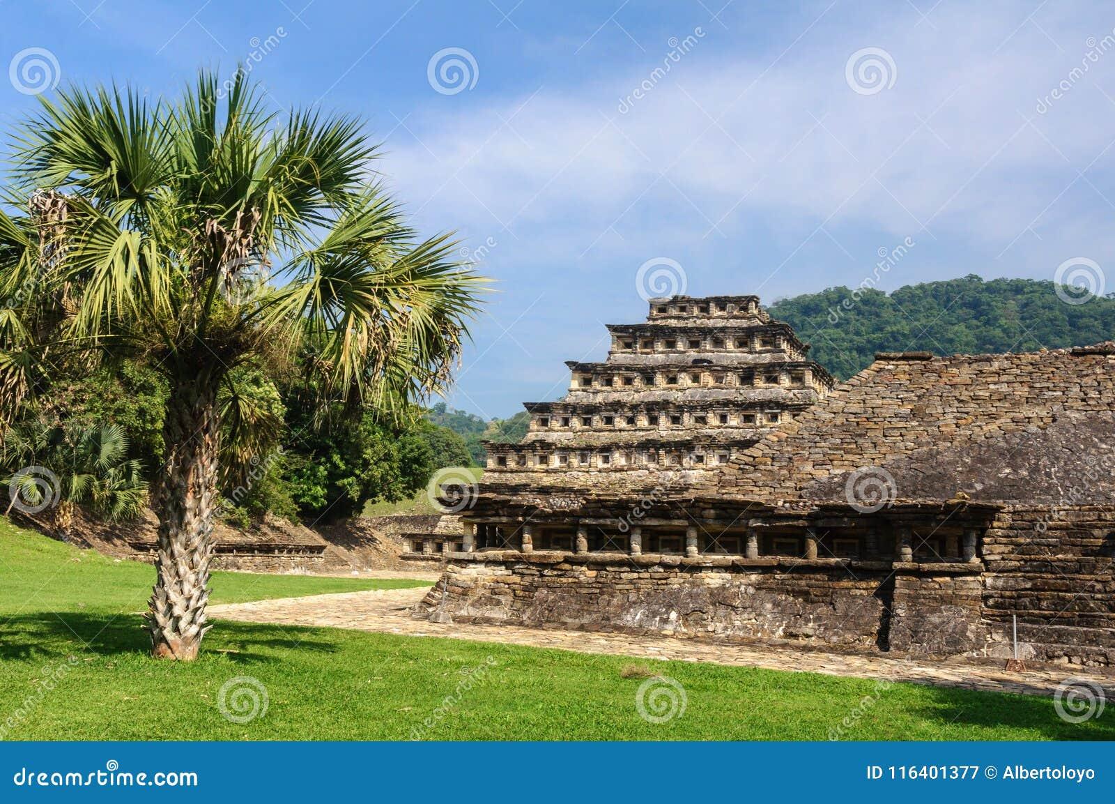 Archeologische plaats van Gr Tajin, Veracruz, Mexico