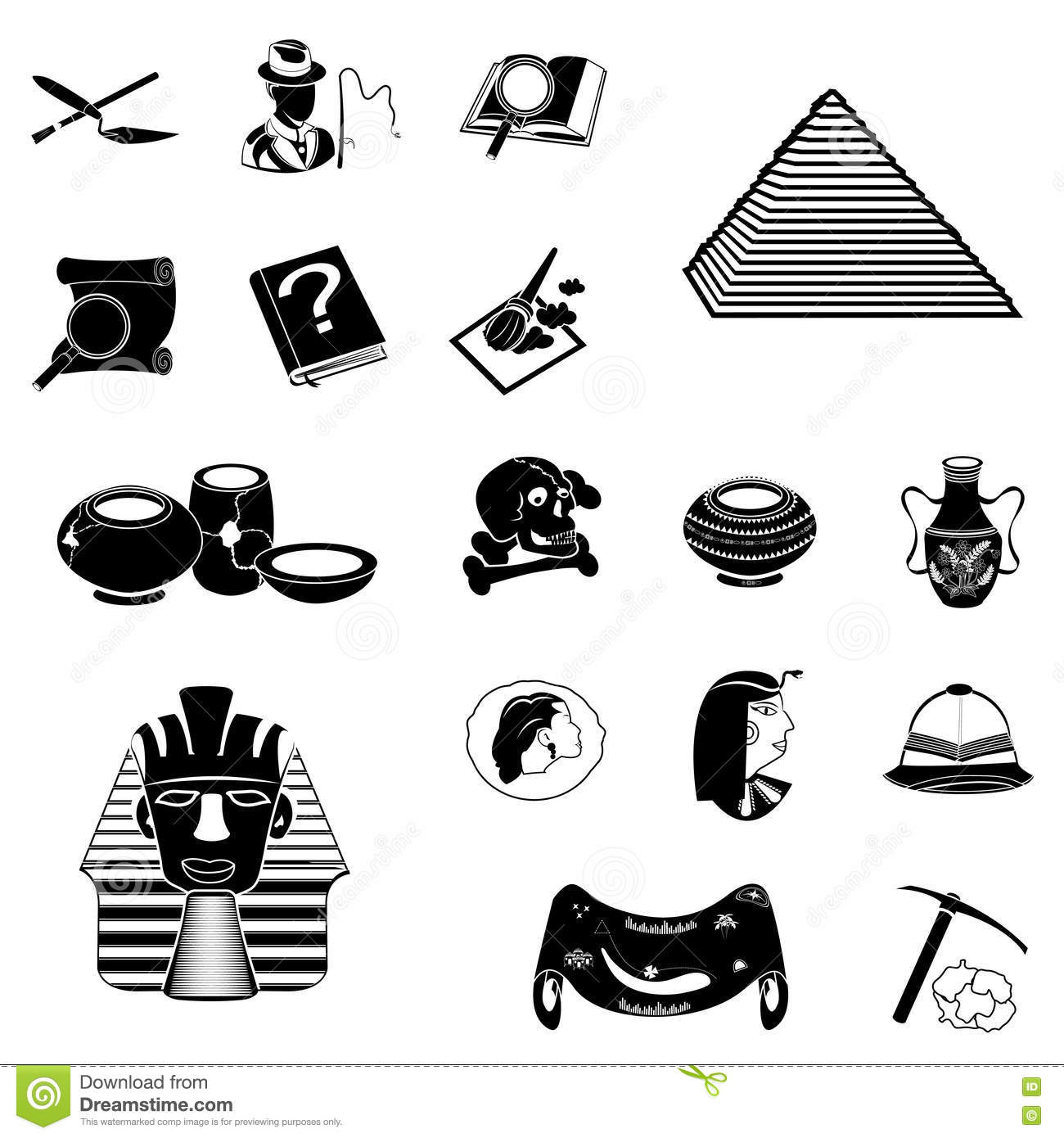 chemistry icons cartoon vector