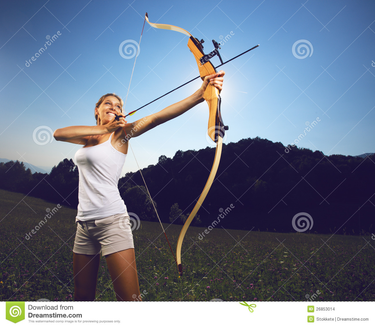 Archery Stock Images Image 26853014