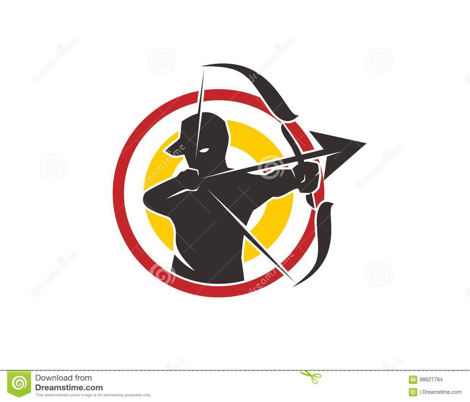 Archery logo stock vector  Illustration of archery, arrow