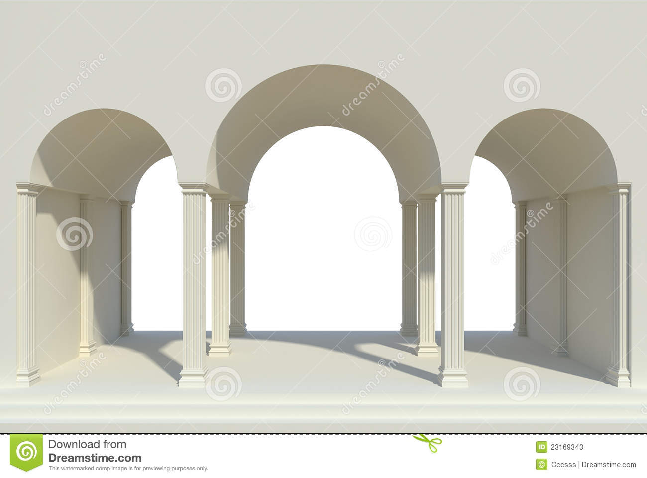 Arches And Columns Stock Photos Image 23169343