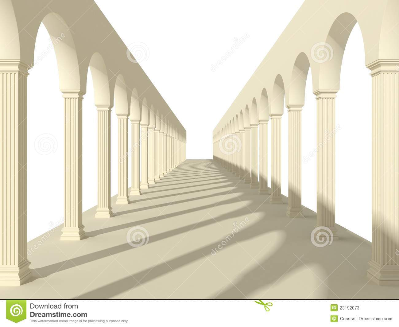 Arches And Columns Stock Photos Image 23192073