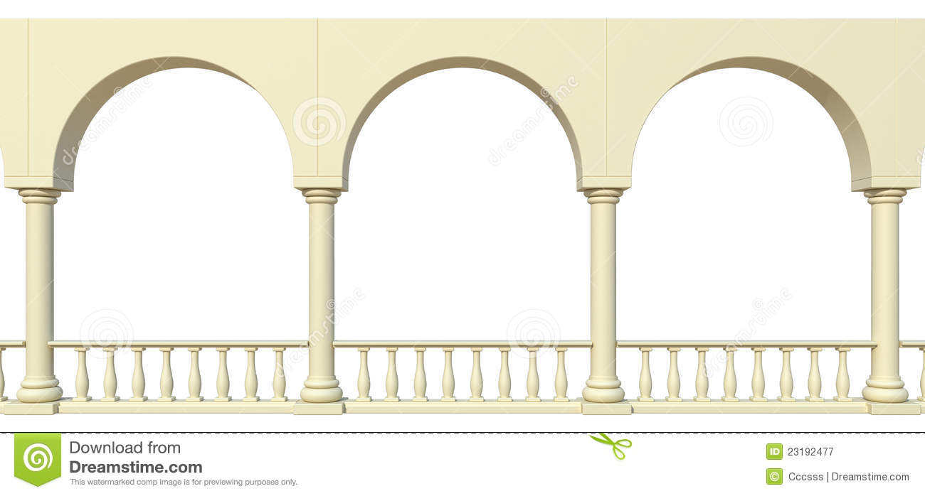 Arches And Columns Royalty Free Stock Photography Image