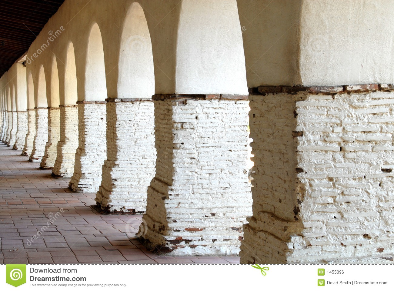 The Arches at the San Juan Bautista Mission