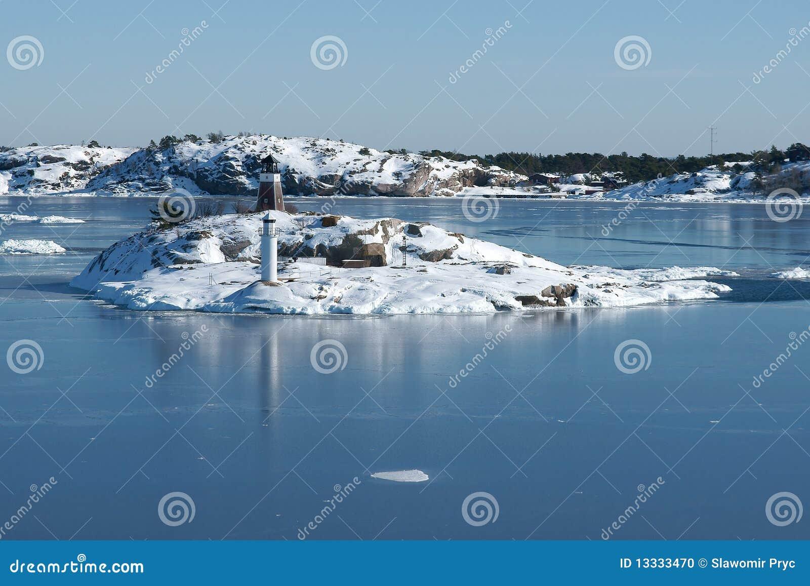 Archipelagu Baltic wyspy denne