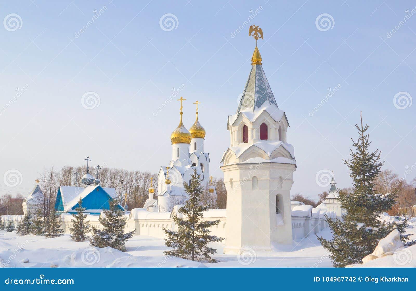 Archistrategos Mikhail kościół w Novosibirsk