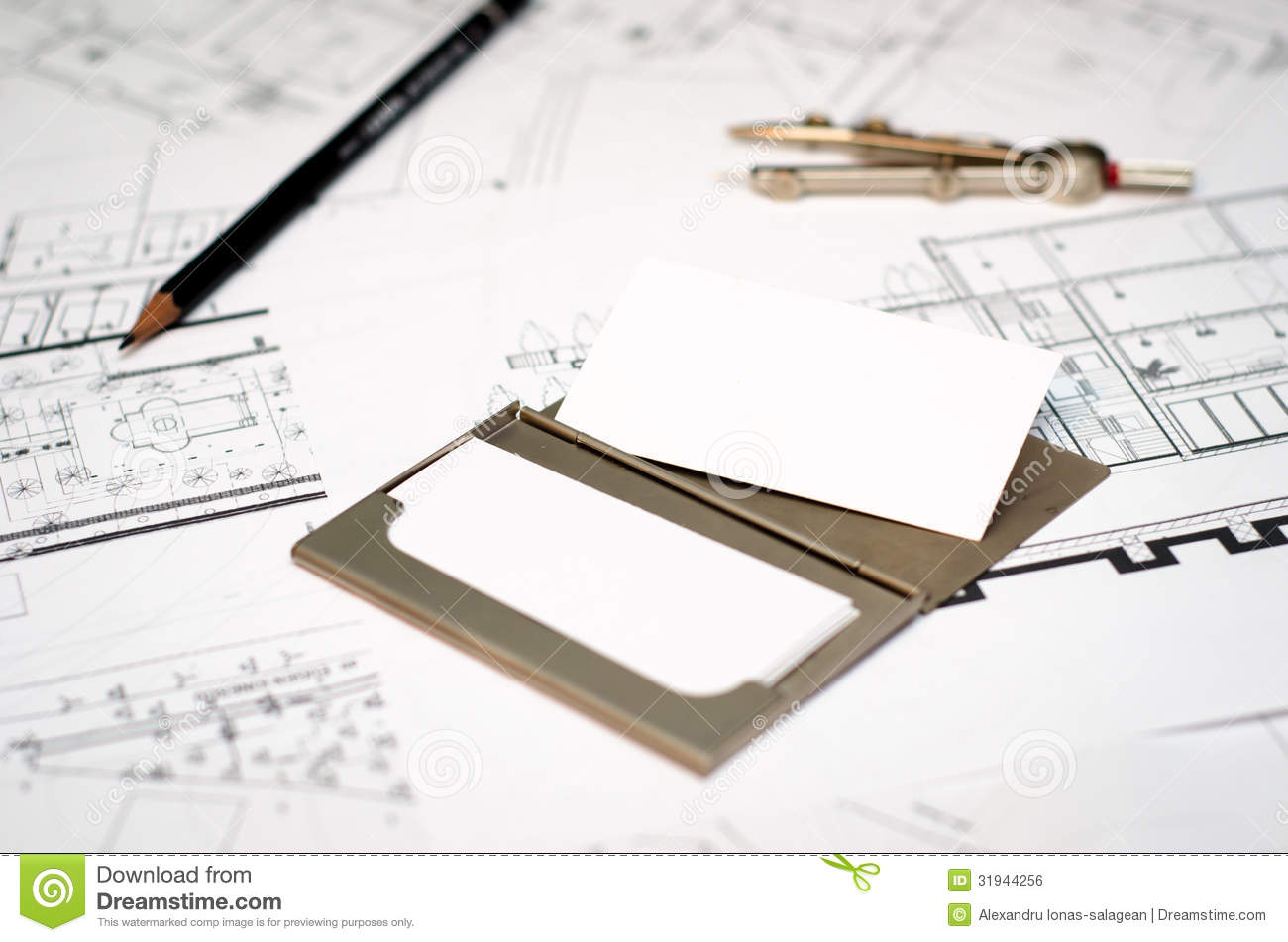 Architect business card stock photo image of floor corporate architect business card magicingreecefo Images