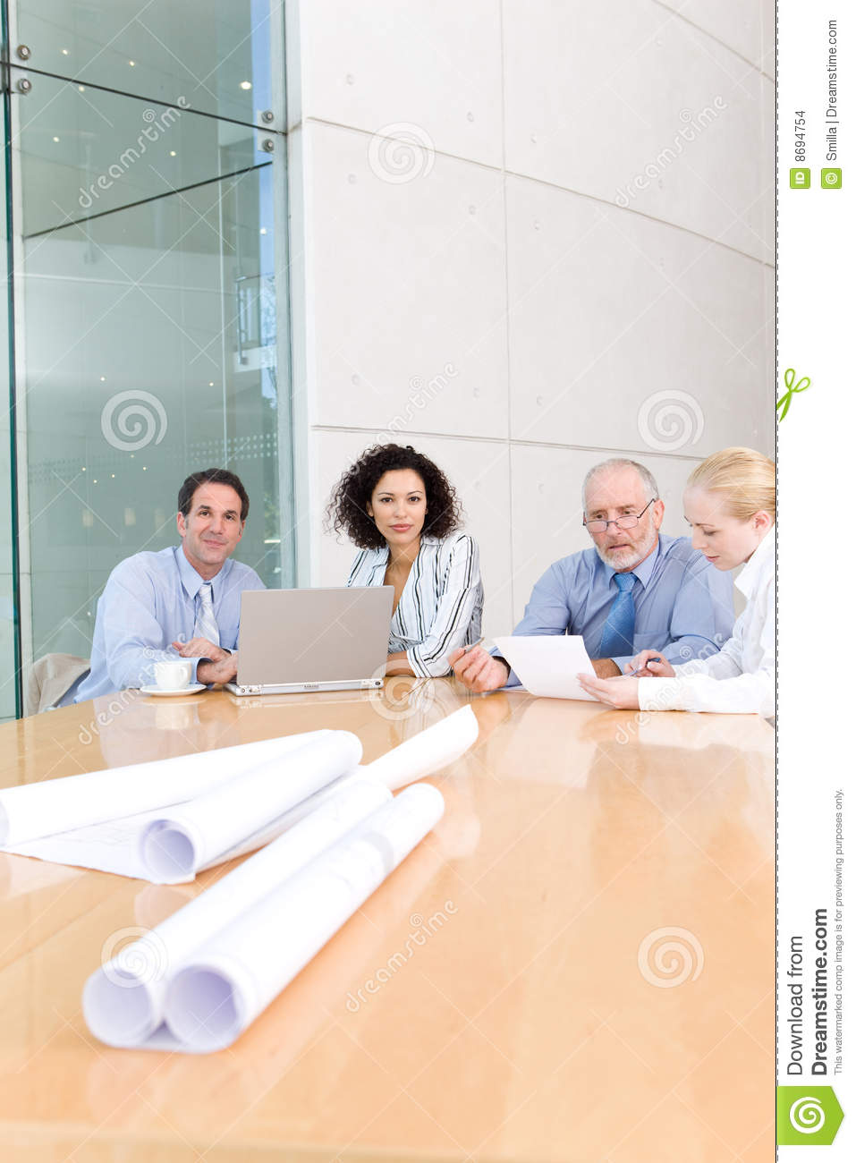 Architect business group meeting