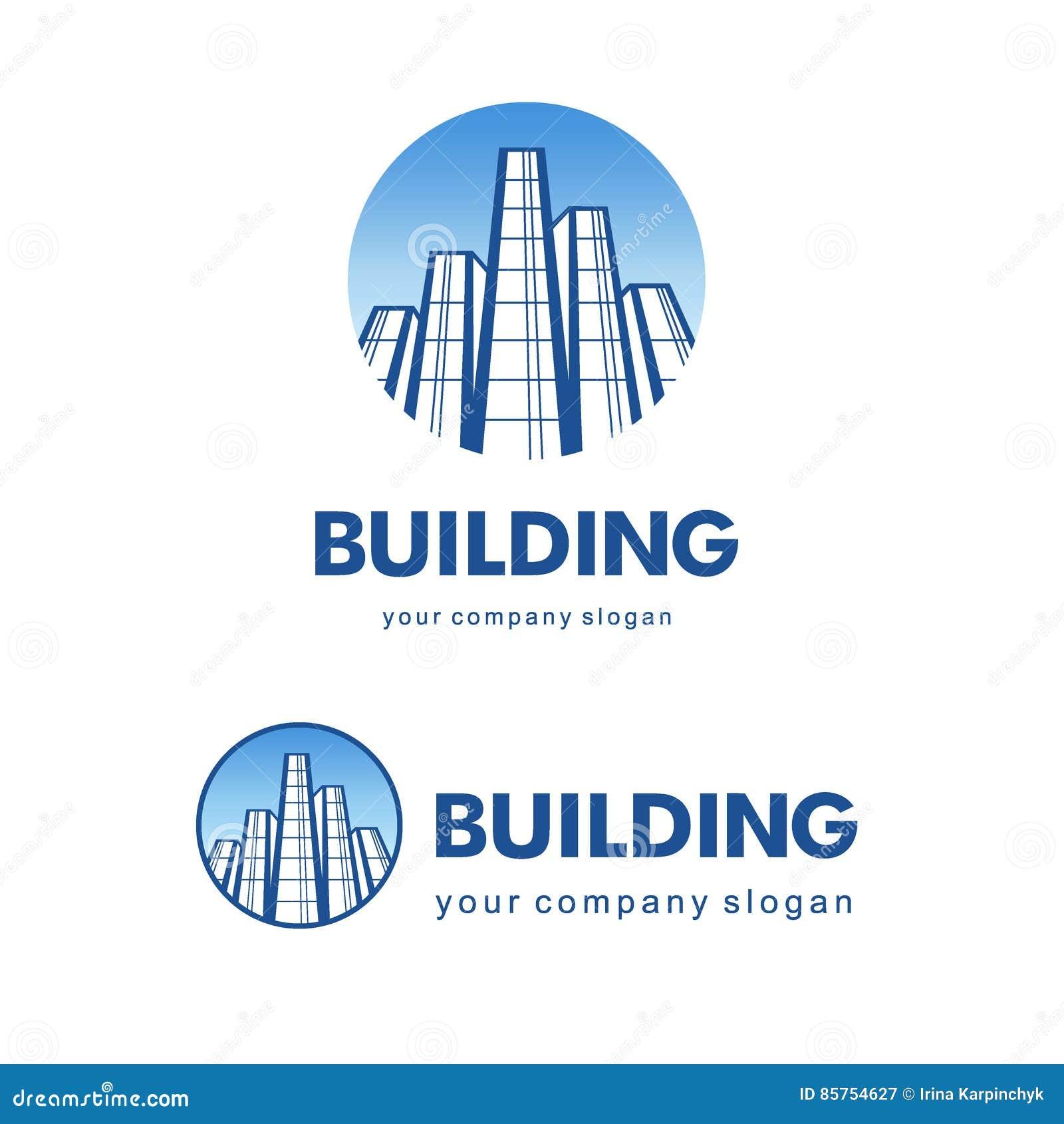 Architect Company Architect Construction Conceptvector Logo For Building Companies