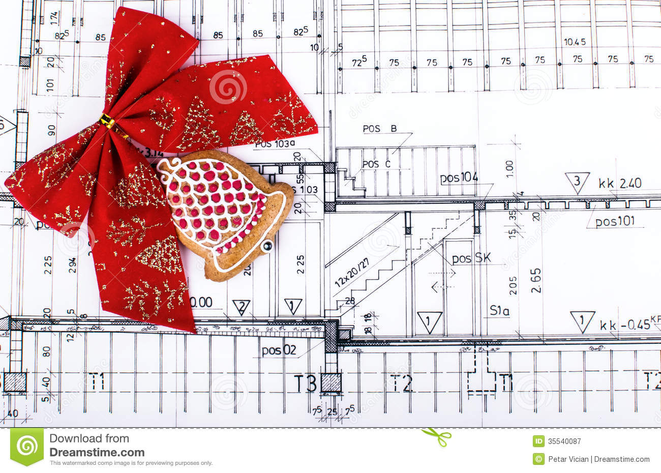 Architect design blueprints and project drawings on table architect design blueprints and project drawings on table christmas background malvernweather Choice Image