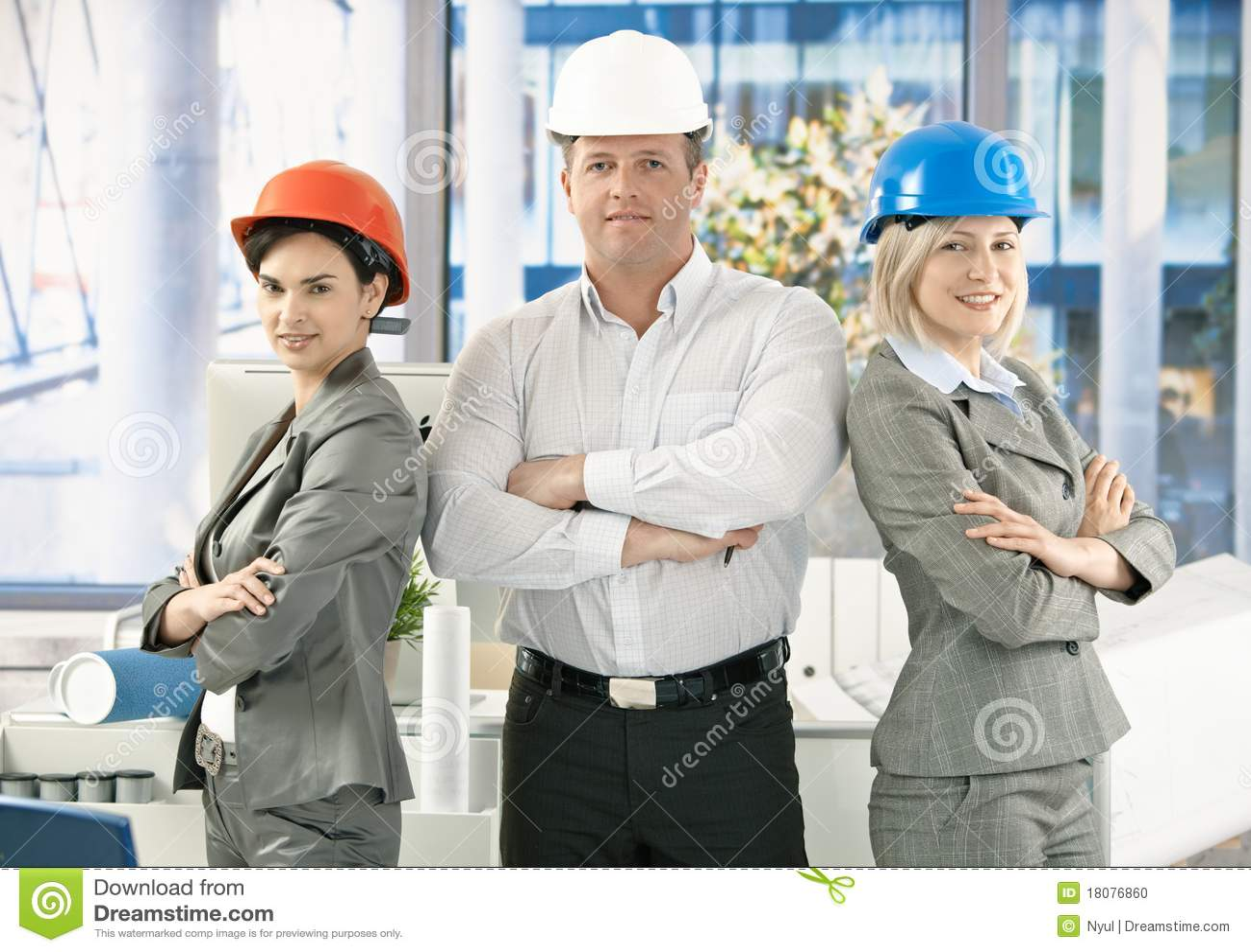 Architect office team