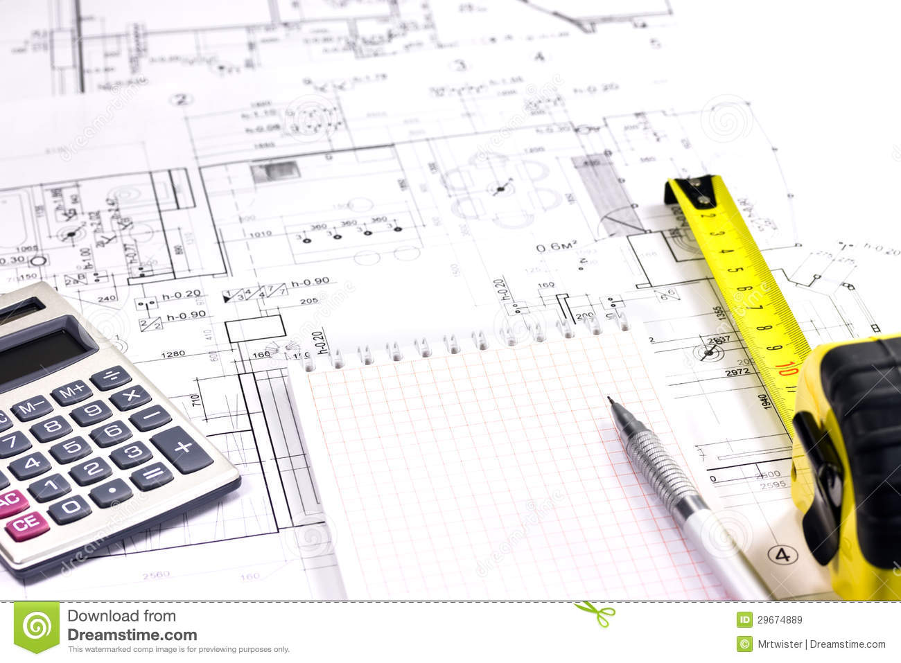 Architect 39 s tools royalty free stock images image 29674889 for Architecture design tools free