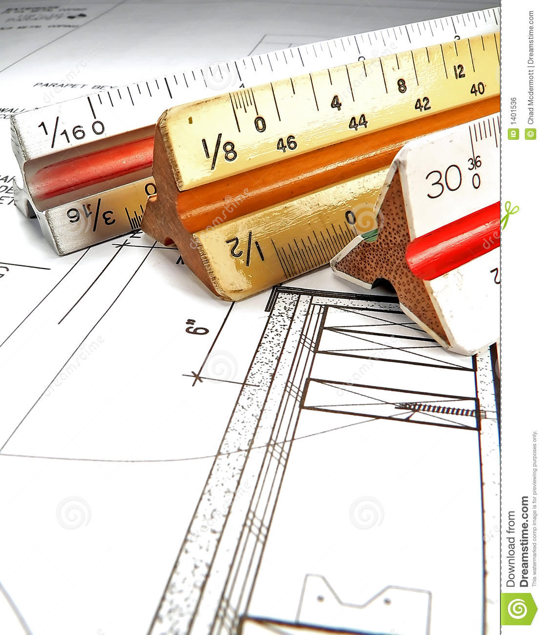 Architect 39 s tools and plans stock photo image of compass for Architecture design tools free