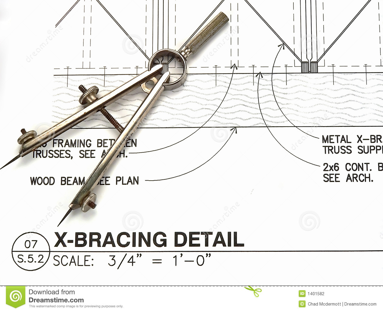 Architect 39 S Tools And Plans Stock Photography Image 1401582