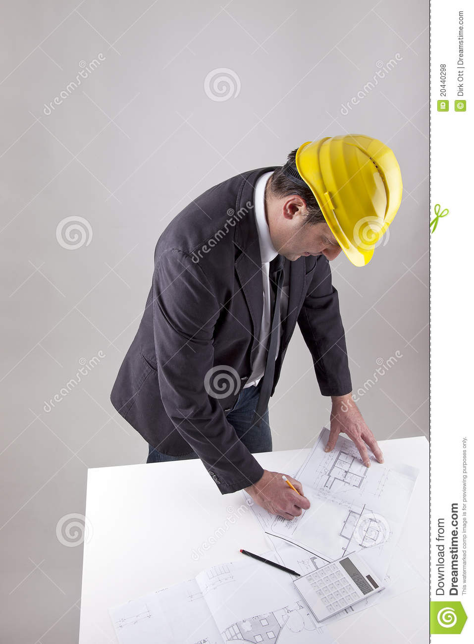 Architect at work royalty free stock photos image 20440298 for Architect at work