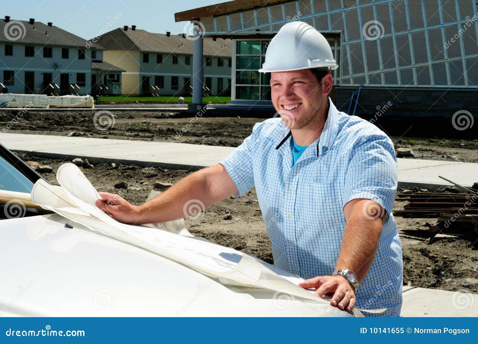 Architecte sur le site