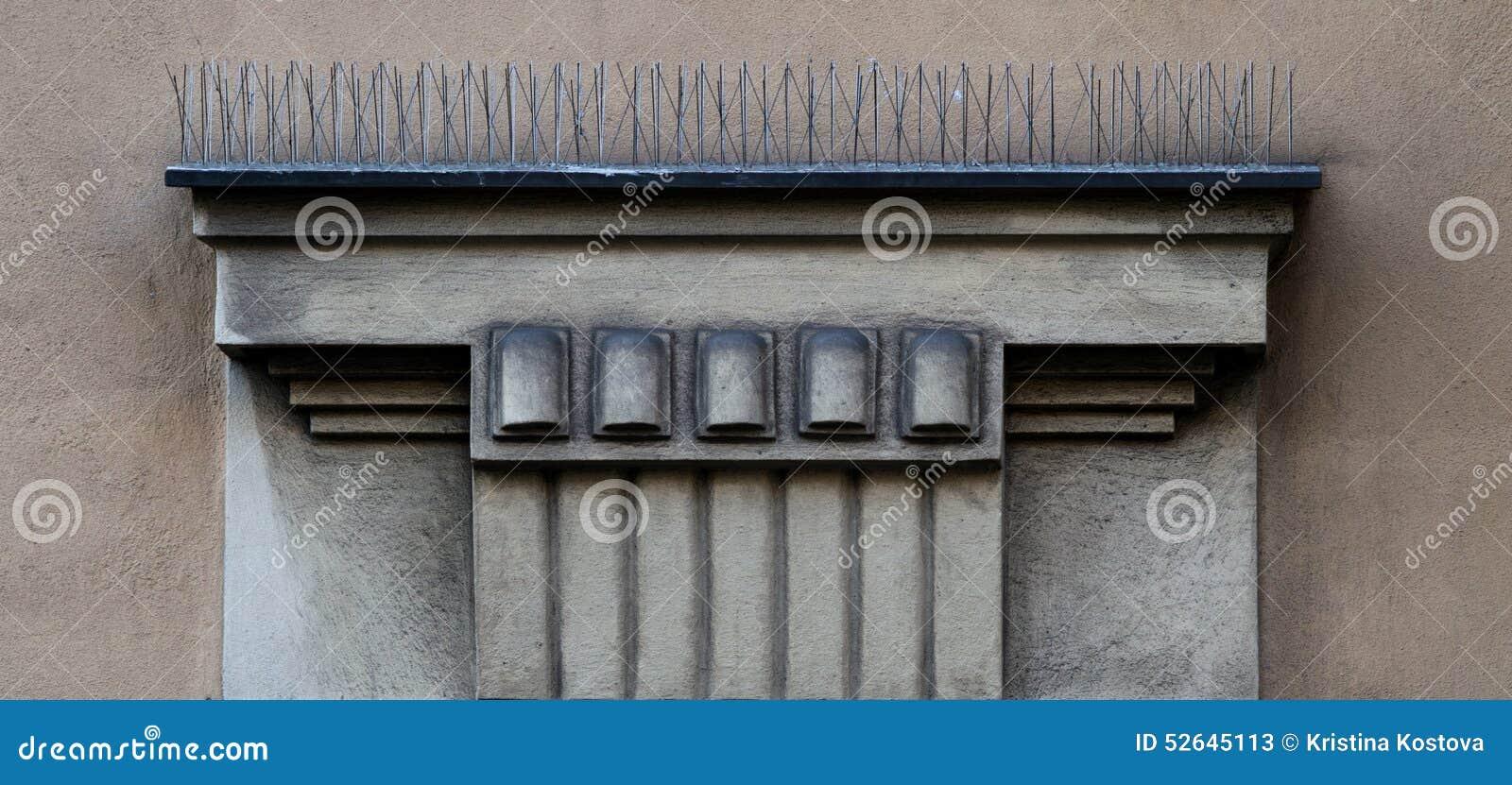 Architectonic decoration