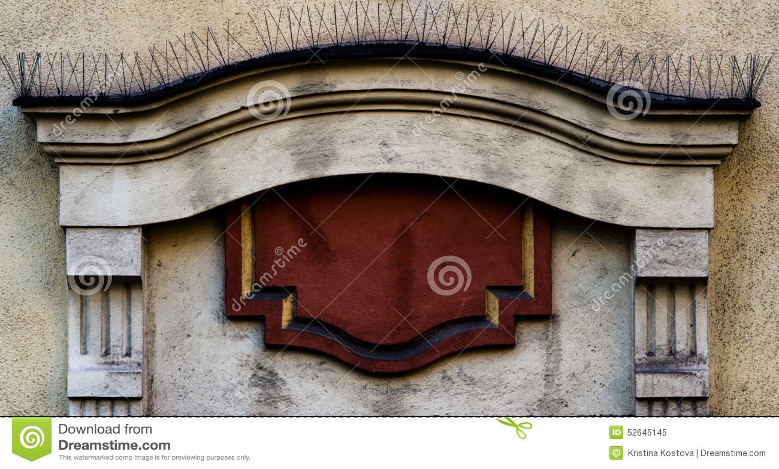 Architectonic decoration.