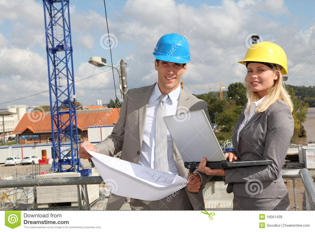 Architects At Work Royalty Free Stock Images - Image: 16561439