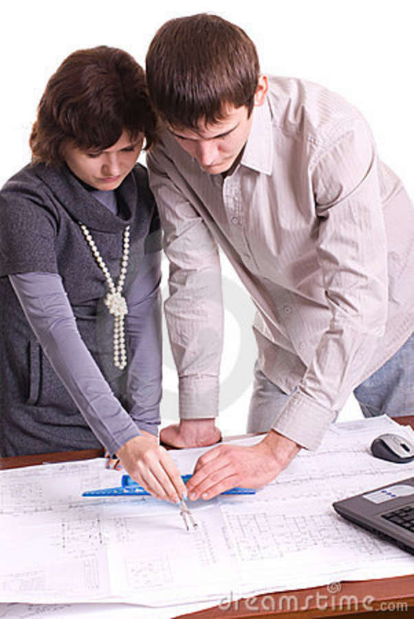 Architects at work stock photography image 8089492 for Architect at work