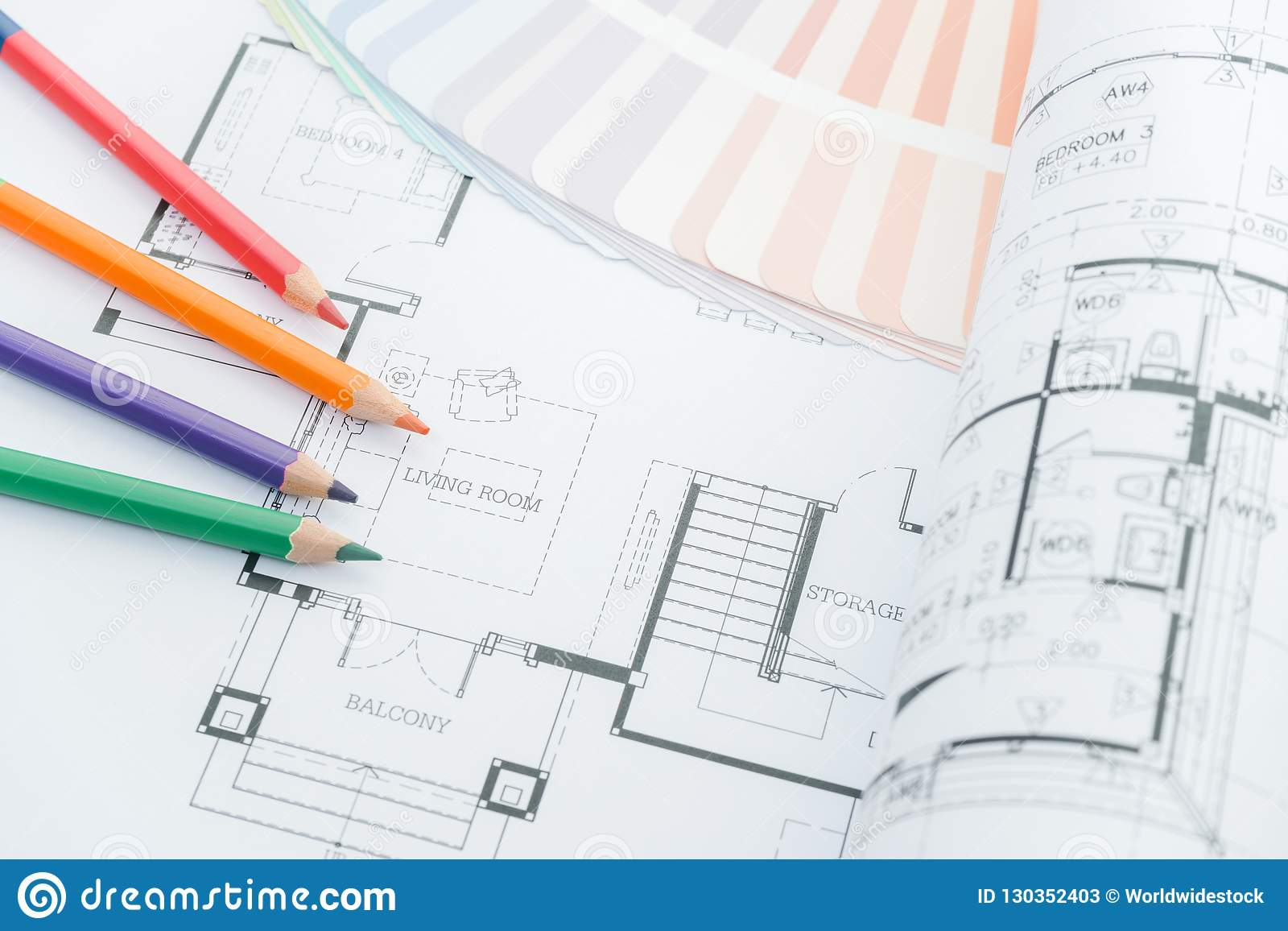 Fine Architects Workplace Architectural Drawings Of The Modern House Wiring Digital Resources Funapmognl