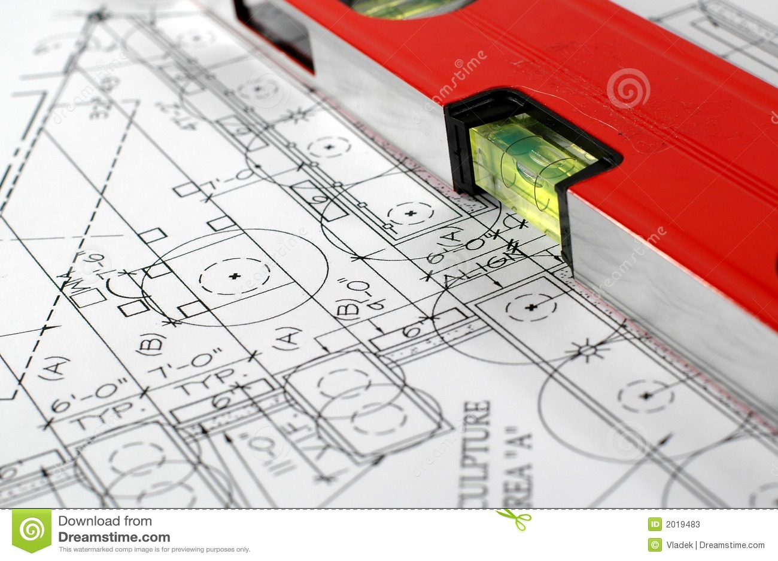 Architecturaal plan van huis