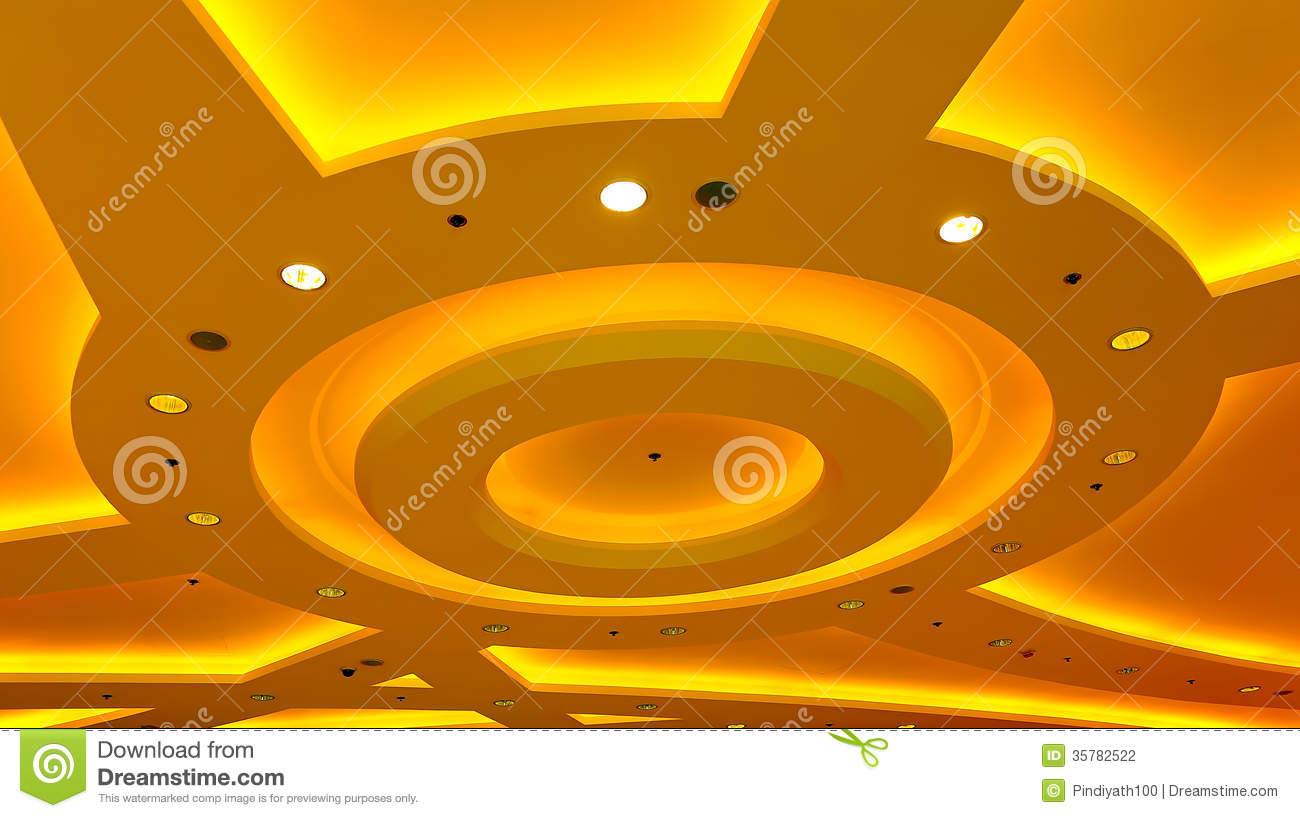 Architectural abstract ceiling light fixture