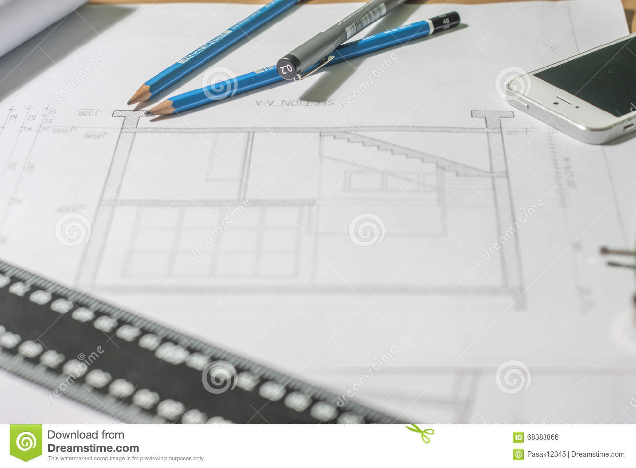 Hook up drawing designing for instruments