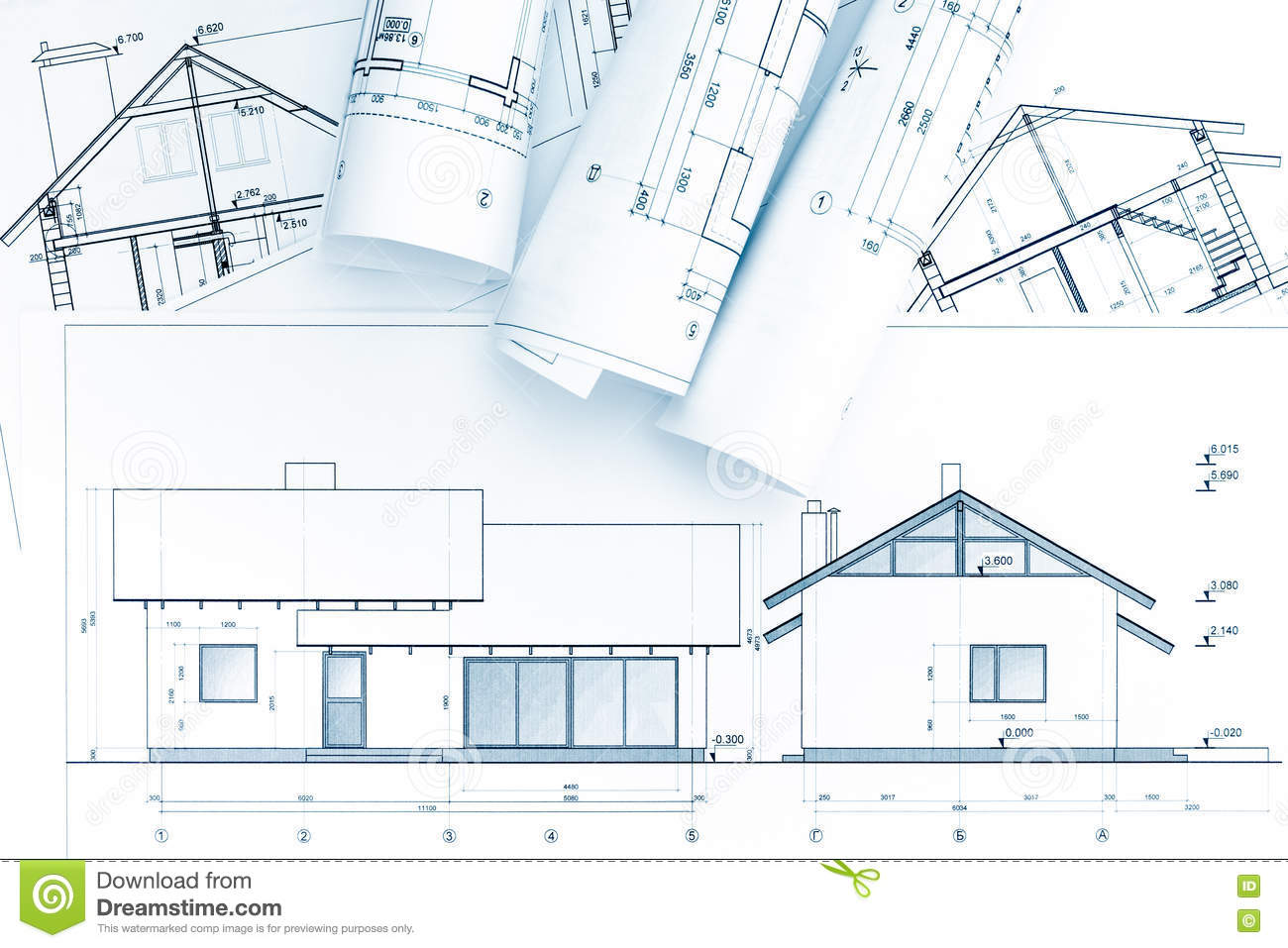 Architectural blueprints and house plan stock image image of download architectural blueprints and house plan stock image image of diagram planning 72086751 malvernweather Images